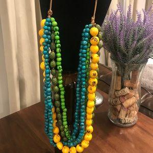 Tagua Nut Necklace / Organic Jewelry